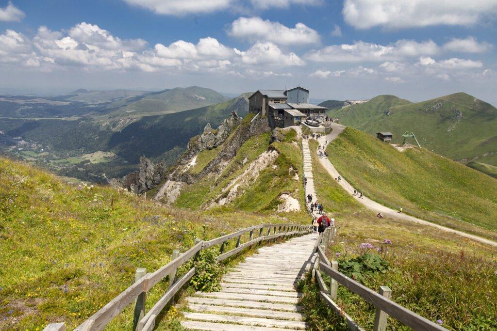 Puy de Sancy alrededor de Clermont-Ferrand