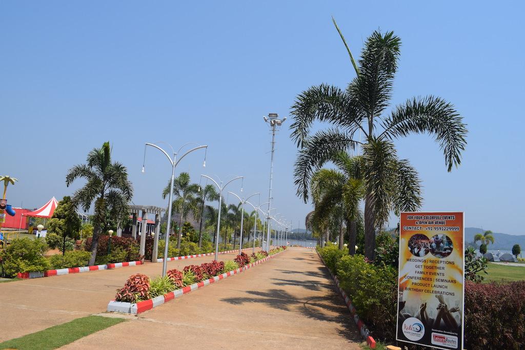 Jardín del río Kali