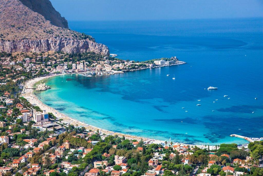 Playas de Mondello Sicilia