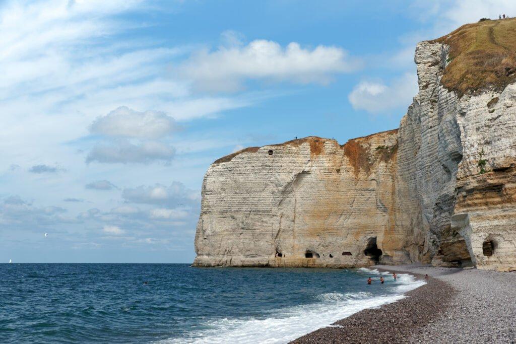 Playa de Tilleul Normandía