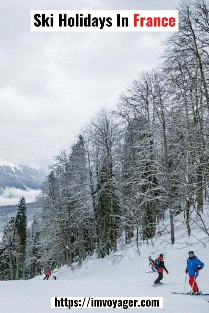 Vacaciones de esquí en Francia