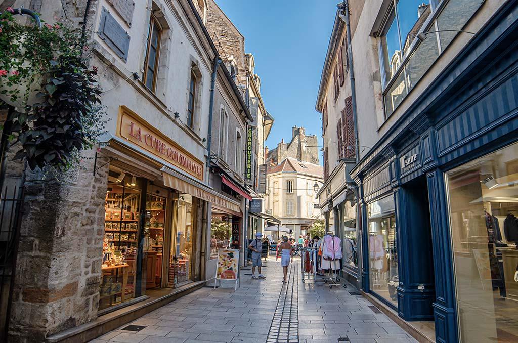 Visite Beaune - Calle peatonal