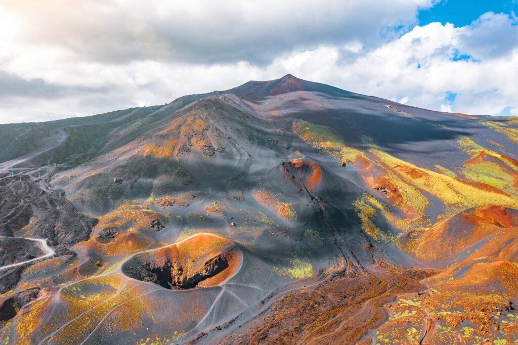 vista del Etna