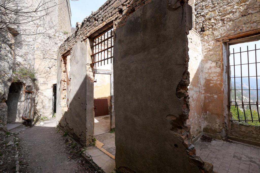 Ciudadela de la prisión alemana de Entrevaux