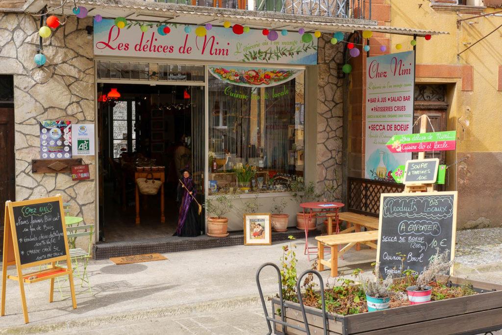 Las delicias de Nini Entrevaux Alpes de Haute Provence