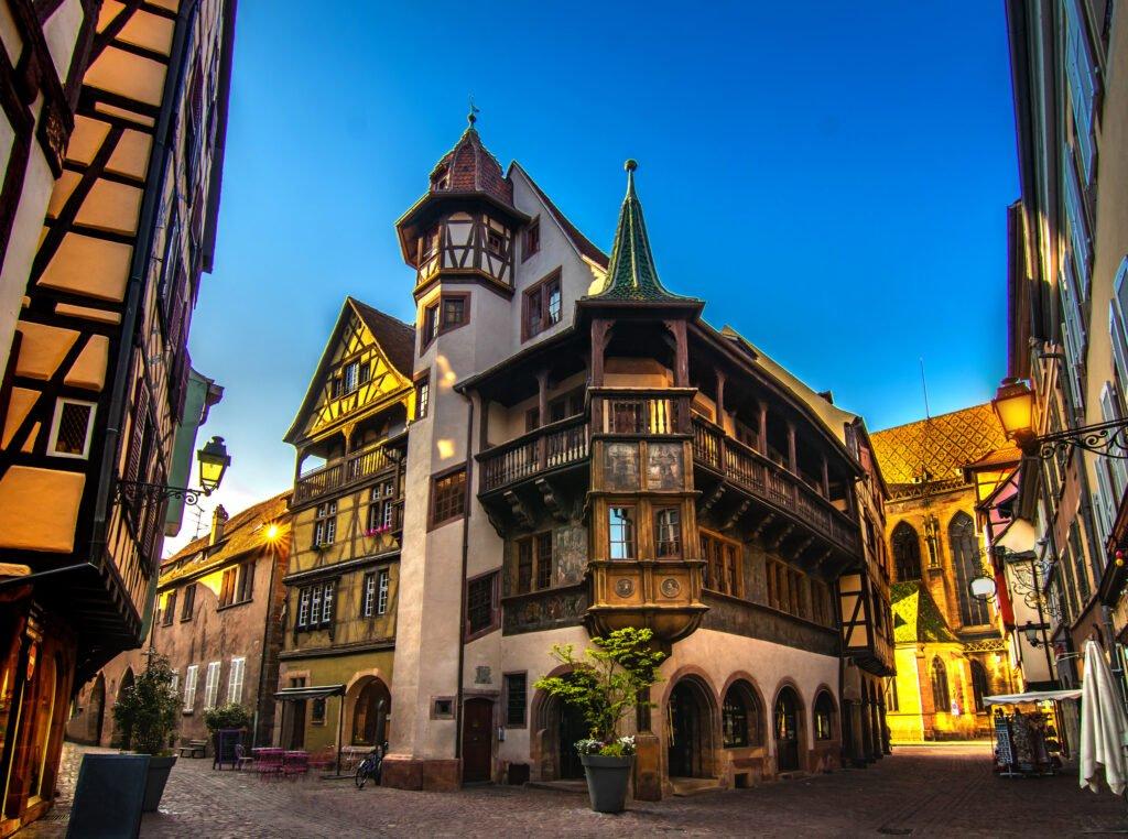 Maison Pfister para hacer en Colmar