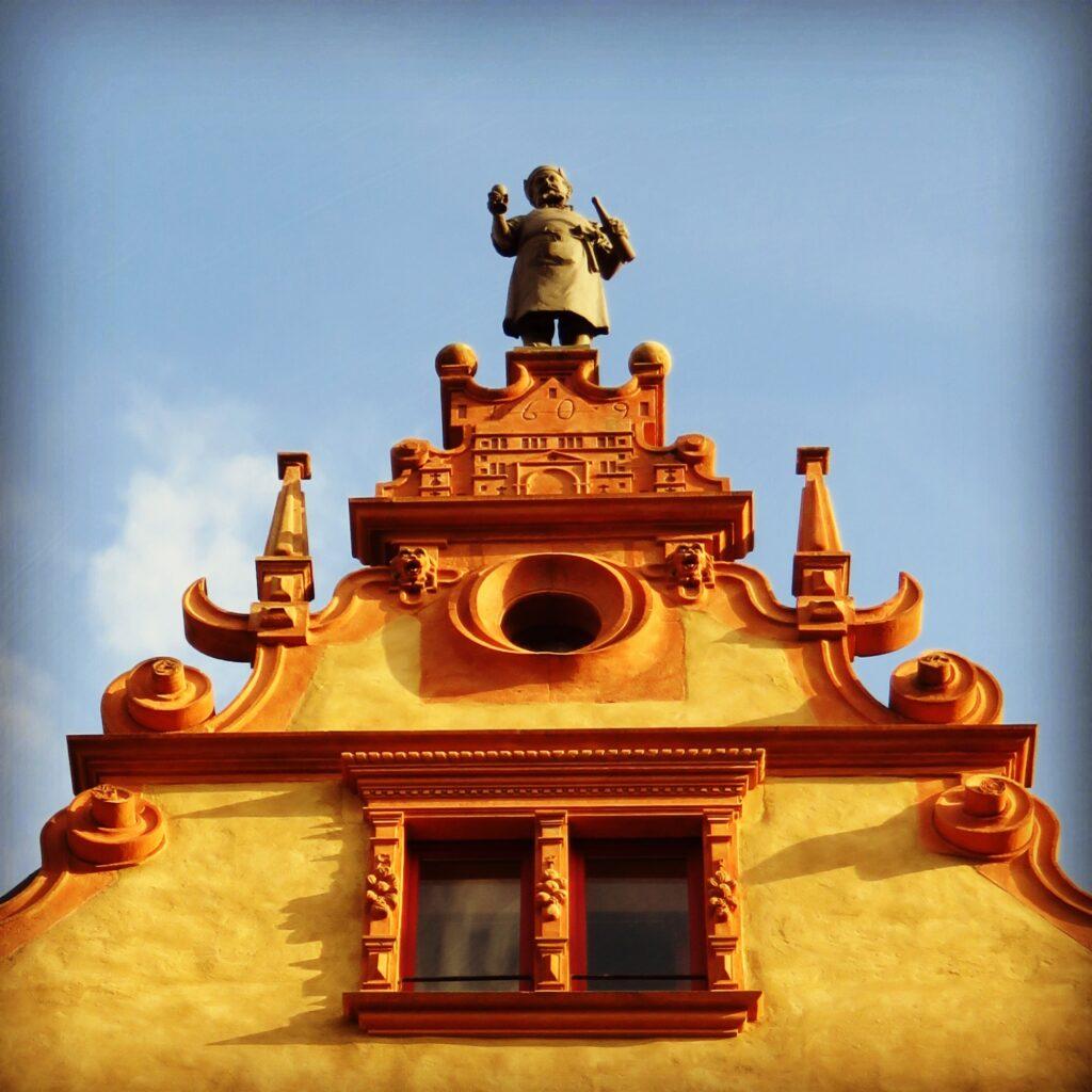 la Casa de las Cabezas en Colmar