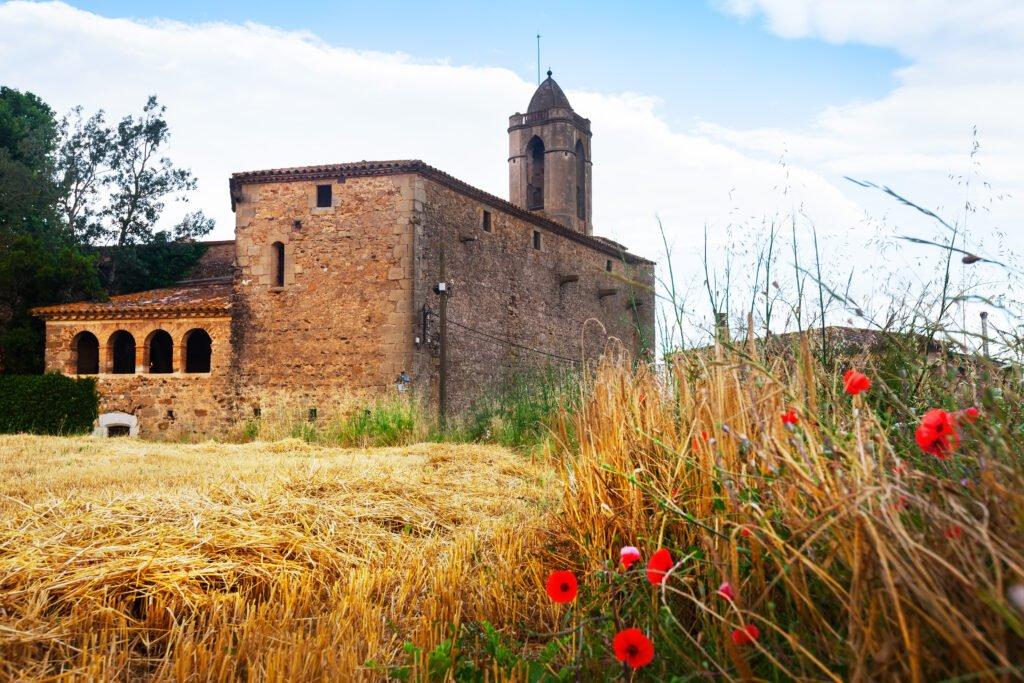 Castillo de Pubol para ver en Cataluña