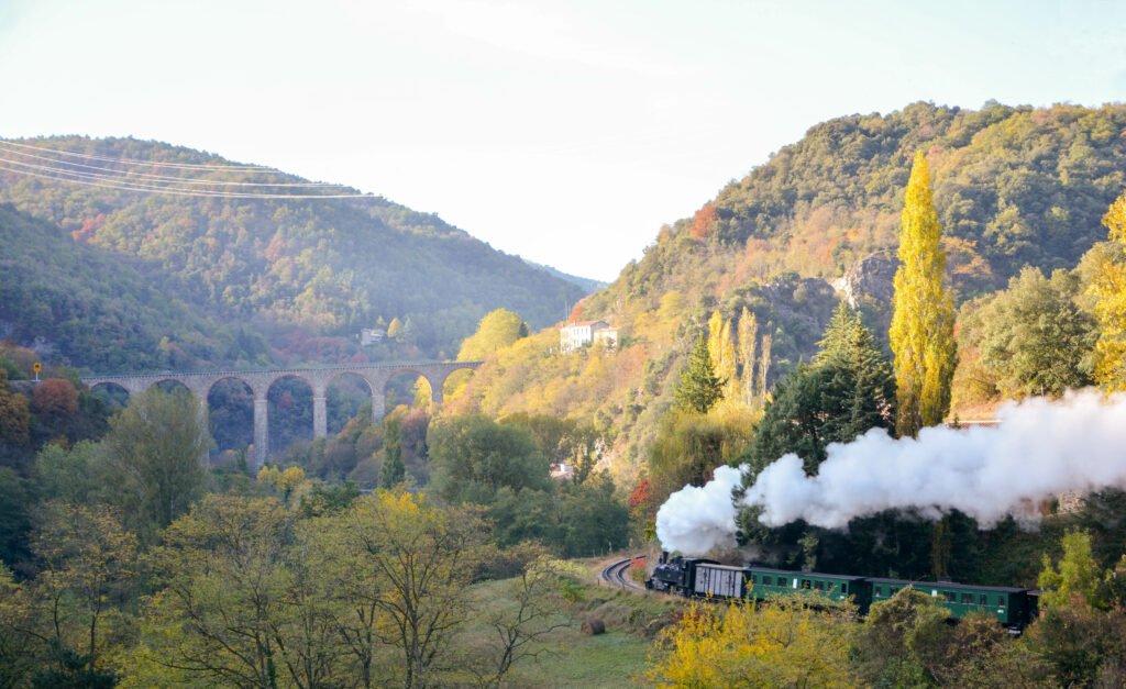 Tren Vivarais para ver en Ardèche