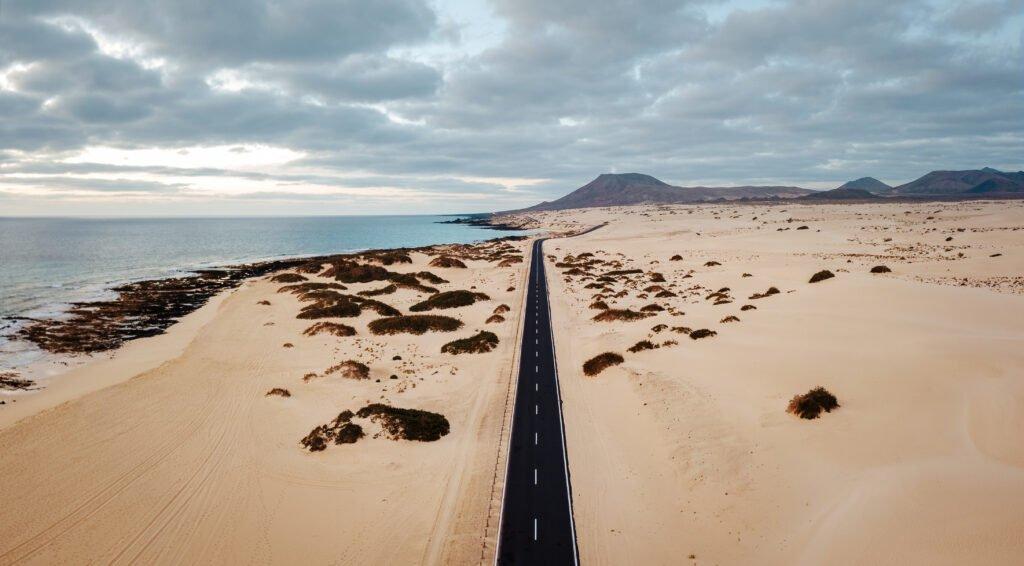Parque de Corralejo en Fuerteventura