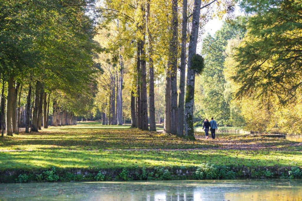 Bosque de Rambouillet para un fin de semana romántico cerca de París
