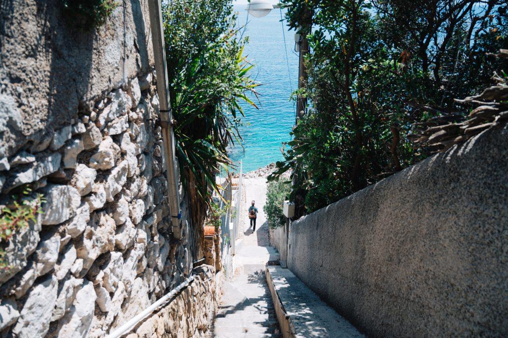 Bonito camino costero
