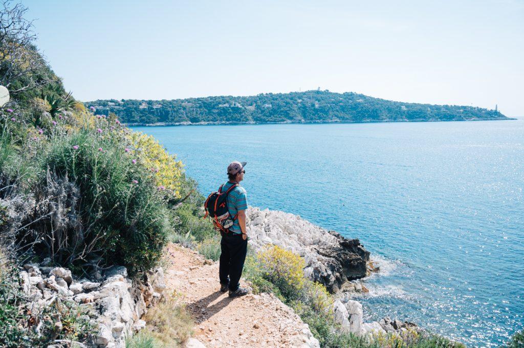 Camino de ronda de Villefranche sur mer