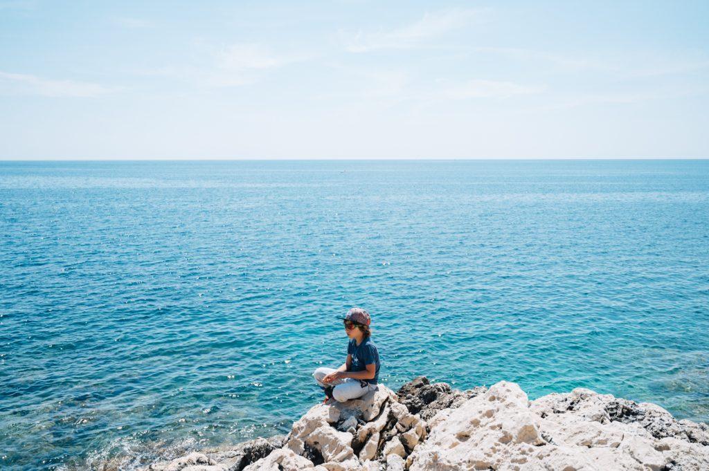 Paseo familiar en los Alpes Marítimos