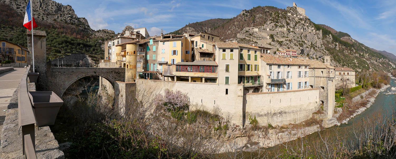 Entrevaux Alpes de Haute Provence (04) Francia