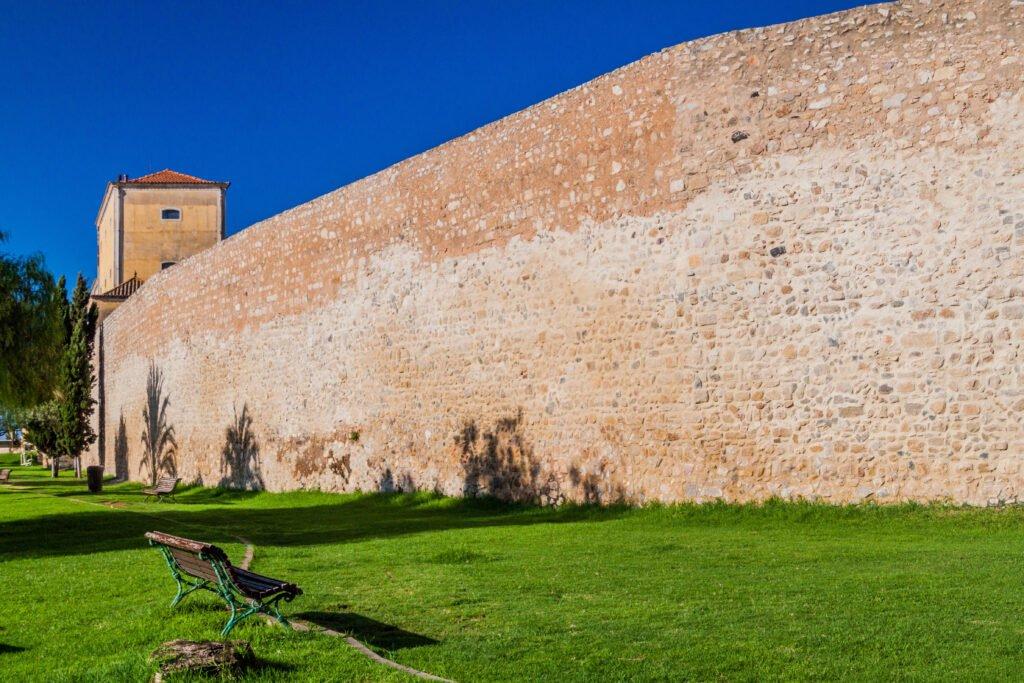 Las fortificaciones de Faro