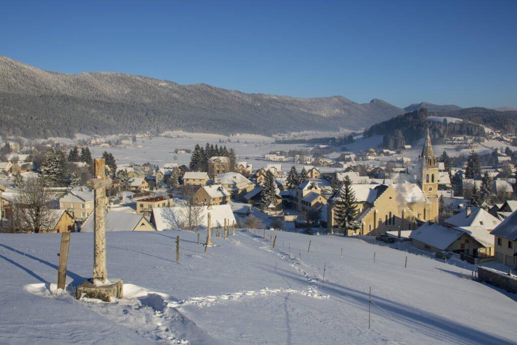El pueblo de Méaudre en Vercors