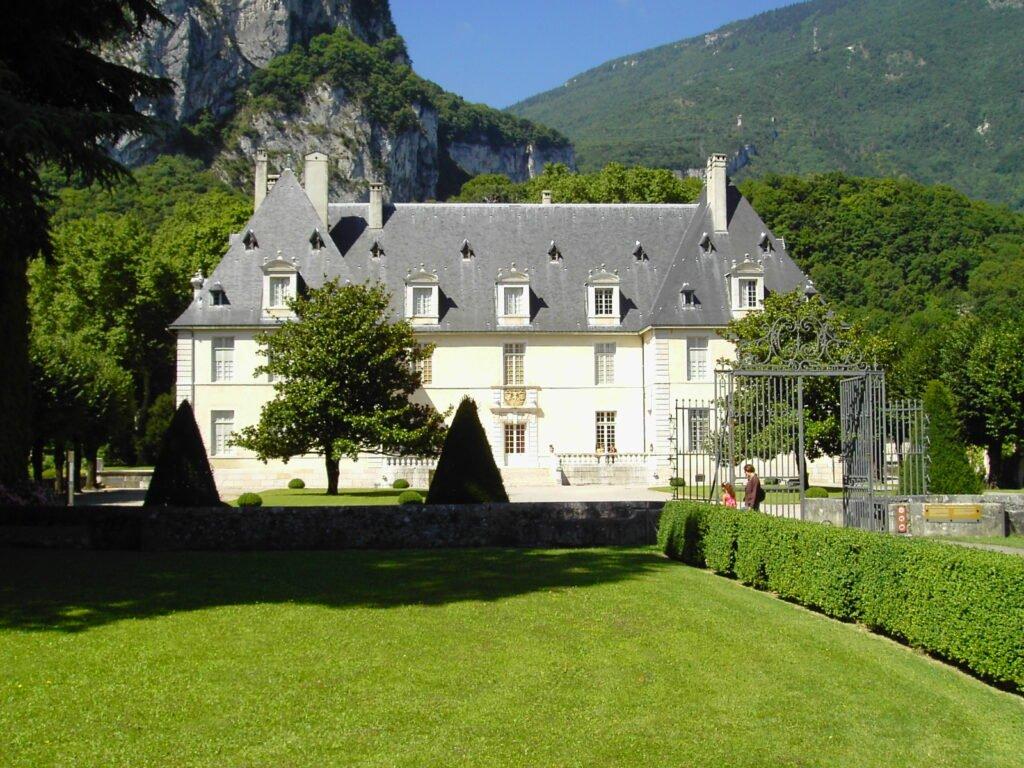 Castillo de Sassenage para hacer en el parque natural de Vercors