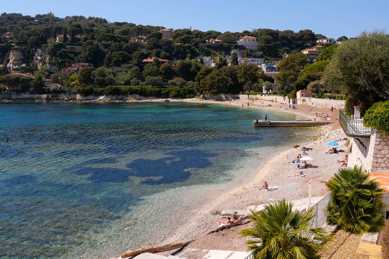 Playa Fosses Saint Jean Cap Ferrat Riviera francesa