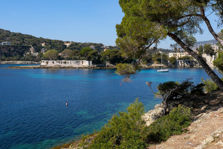 Anse des Fossettes Saint Jean Cap Ferrat Riviera francesa