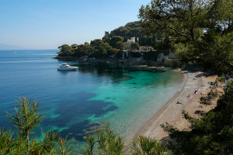 Playa La Paloma Saint Jean Cap Ferrat Riviera Francesa