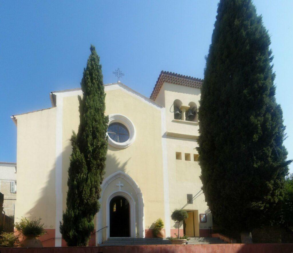 La iglesia de Lavandou