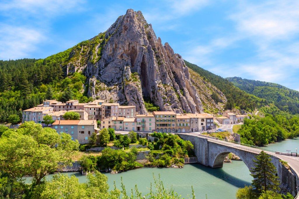 El camino de Napoleón a través de Sisteron