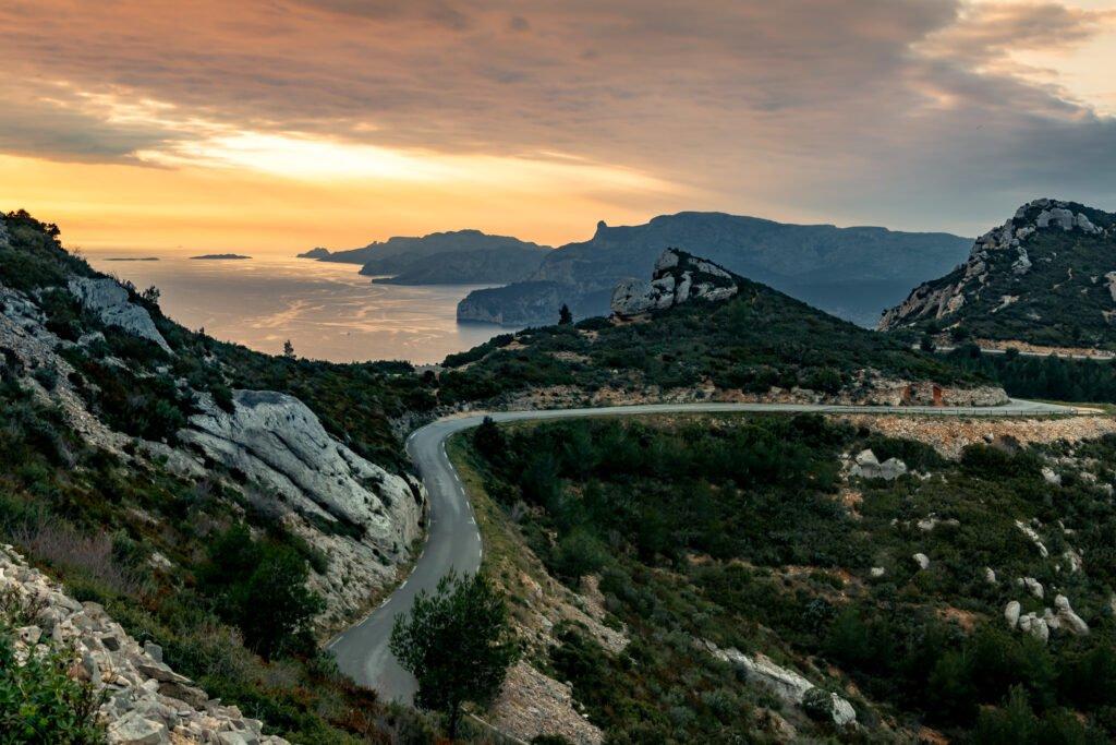 Itinerario de la cresta de Cassis a La Ciotat