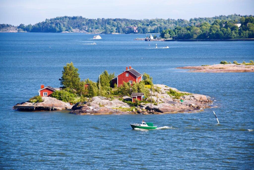 El archipiélago de Helsinki