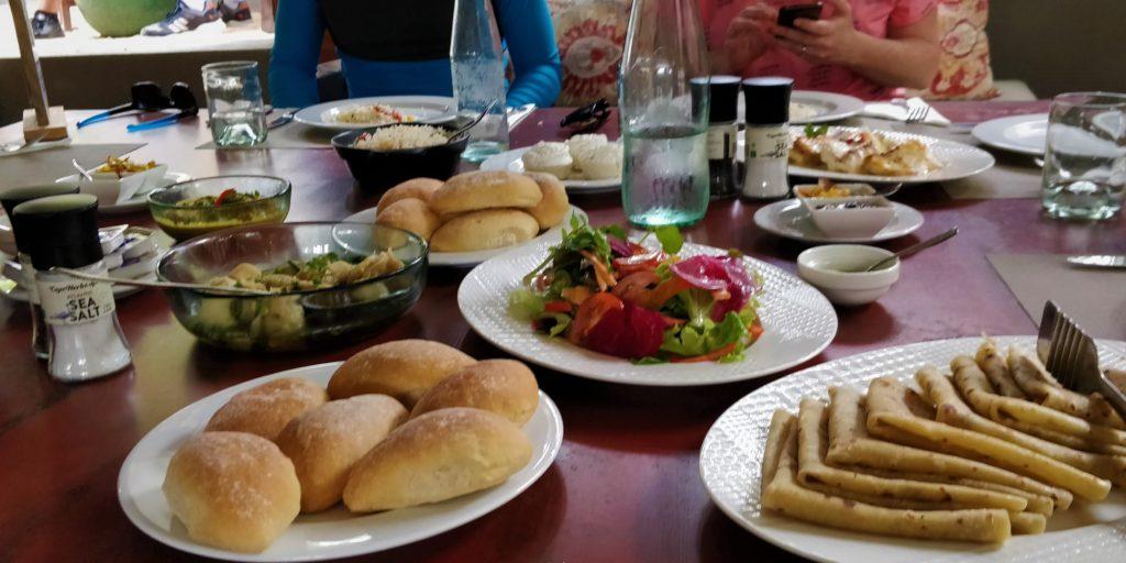 Almuerzo en Veranda Tamarin