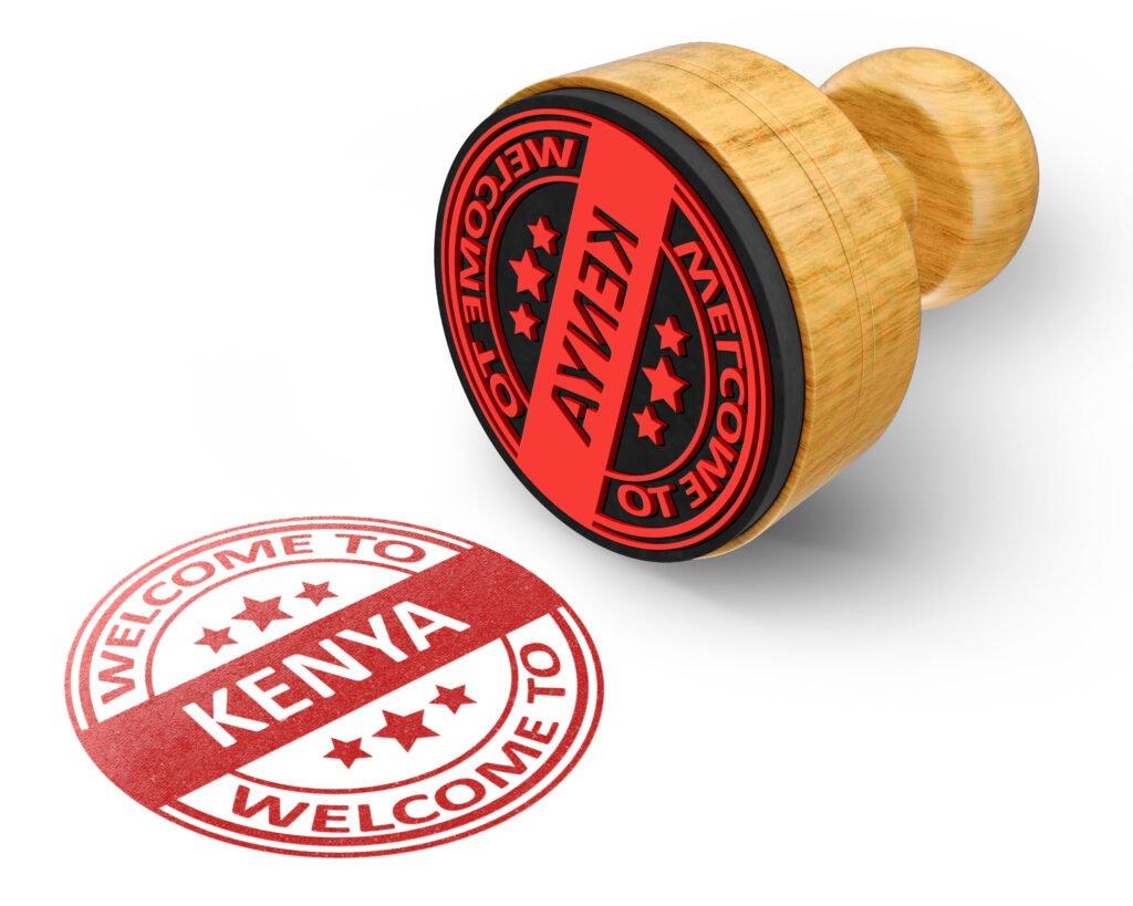 una visa para visitar Kenia