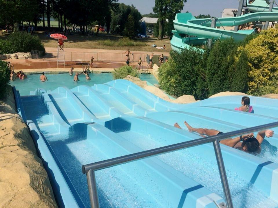 Parque acuático Aquaparc Isis en Francia
