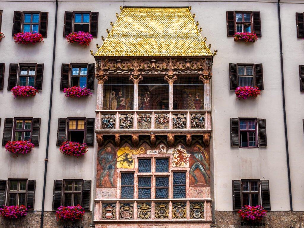 El pequeño techo dorado de Innsbruck