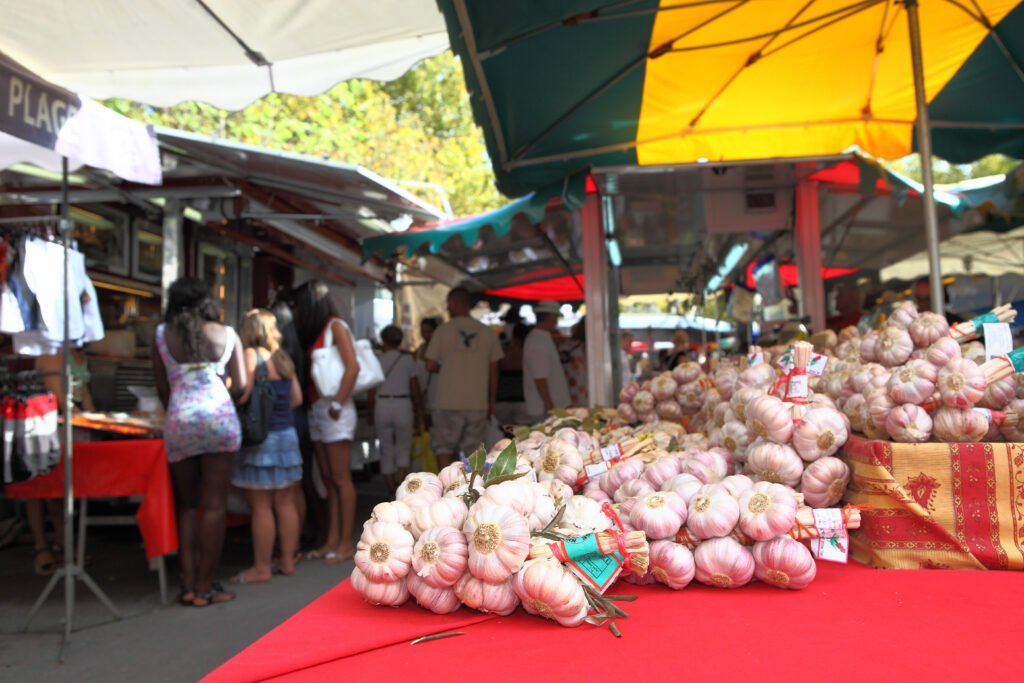 Mercado de Saint-Tropez