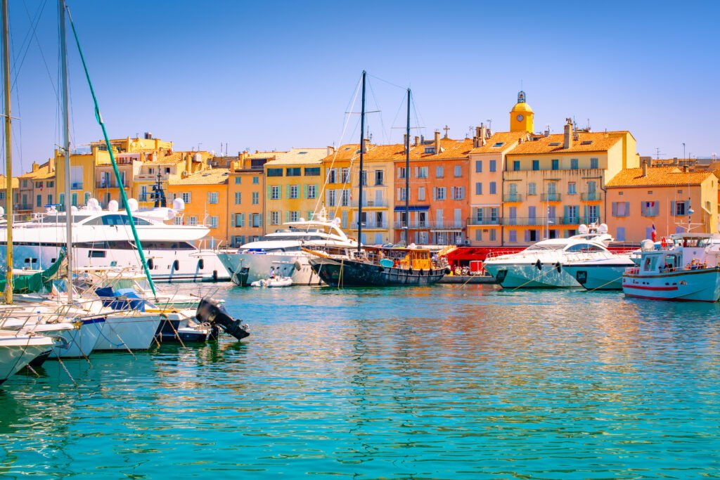 El puerto de Saint-Tropez