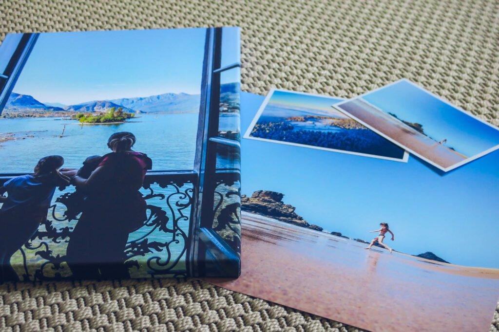 Decoración de ampliación de fotos de viaje