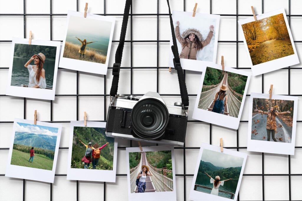 Collage de fotos en una cuadrícula
