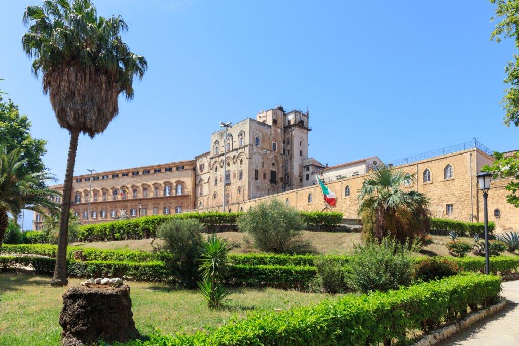 El palacio normando