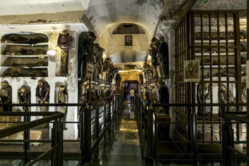 Las catacumbas para hacer en Palermo