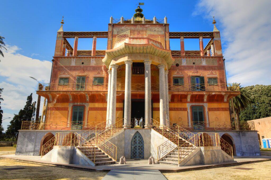 Palacio chino en Palermo