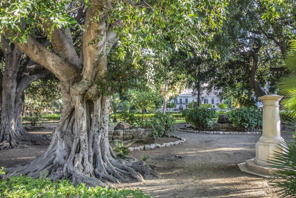 Jardín Garibaldi en Palermo