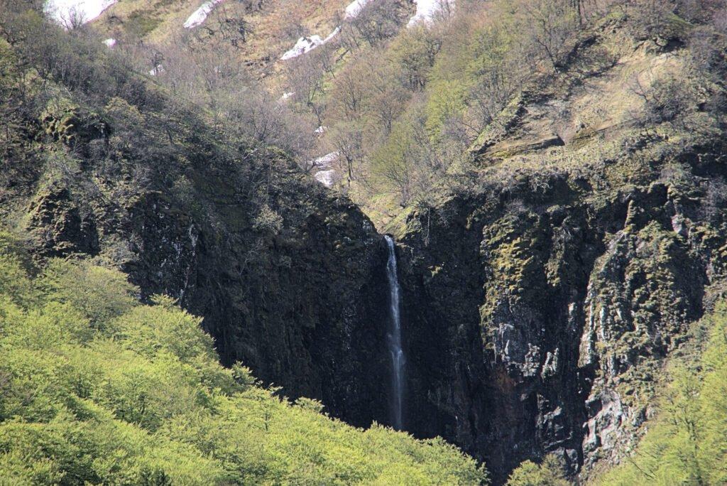 Cascada del valle de Chaudefour