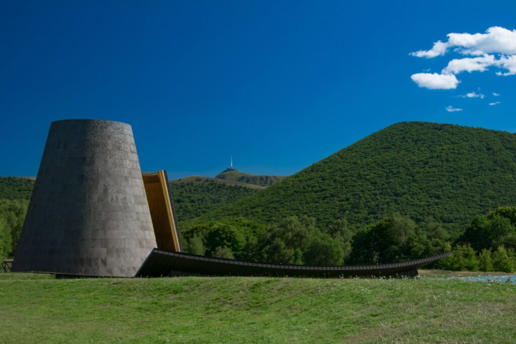Vulcania en el Parque Nacional de los Volcanes de Auvernia