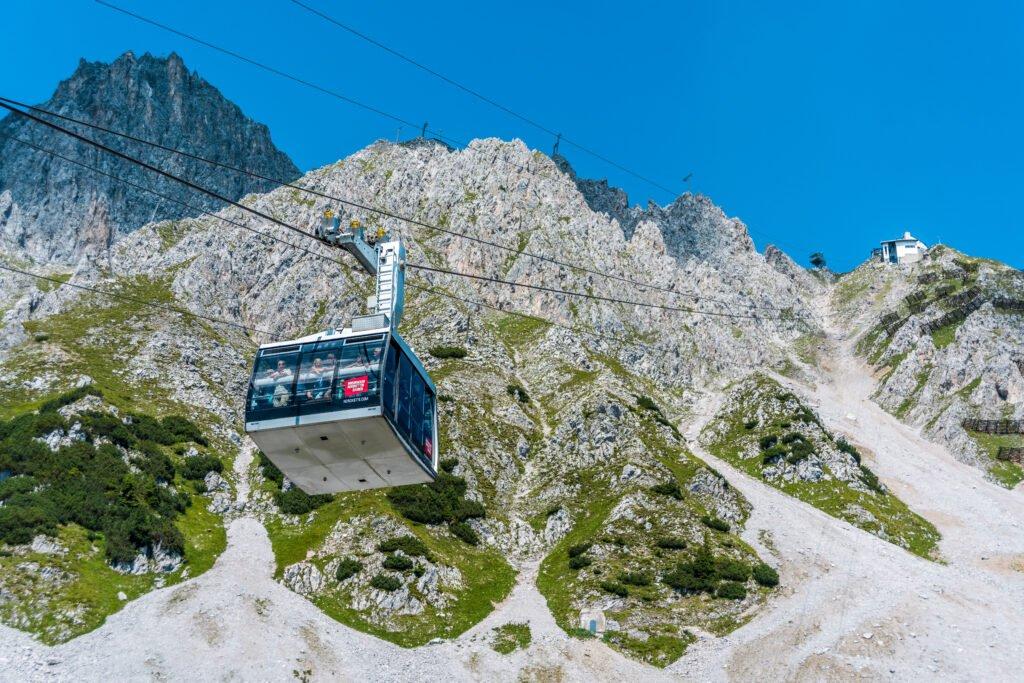El funicular de Innsbruck a Nordkette