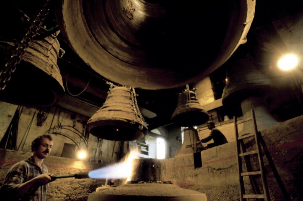 Fabricación de campanas en Innsbruck