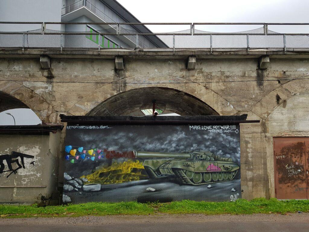 Arte callejero en Innsbruck