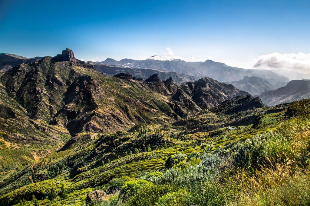 Vista panorámica del Pico de las Nieves