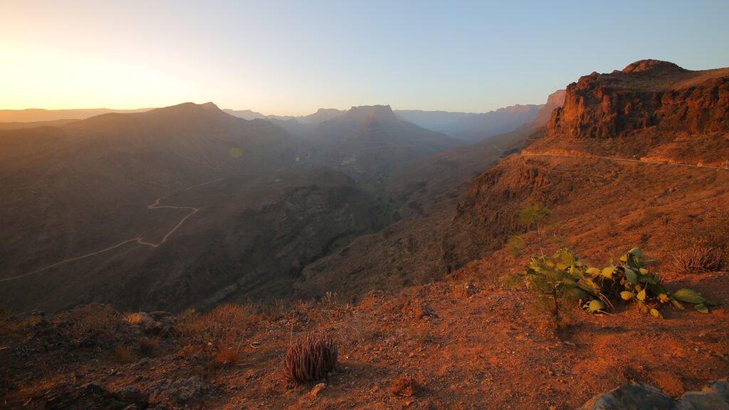 Barranco de Fataga en Gran Canaria