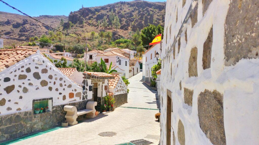 Fataga, un bonito pueblo de Gran Canaria