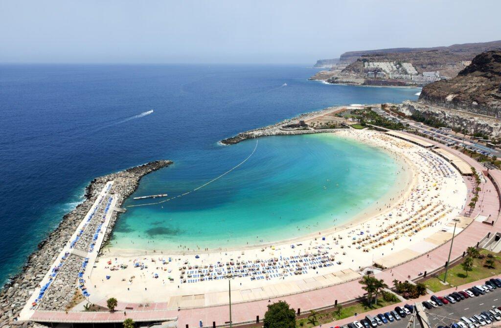 Playa de Amadores en Gran Canaria